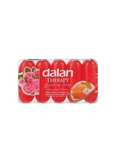 Dalan Dalan Therapy Gliserinli Sabun Yaban Gülü Badem Yağı 5 Li 5x70=350 Gr Renksiz